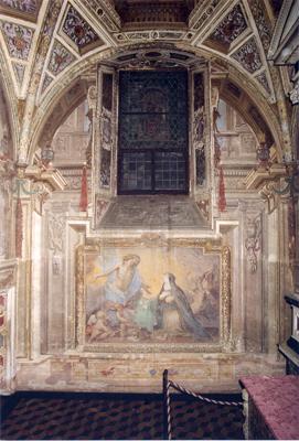 Certosa di Pavia, Santa Caterina