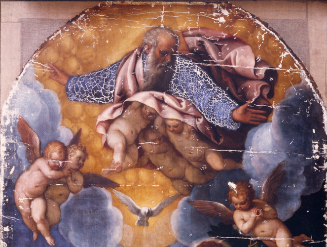 Battesimo-di-Cristo,-stucca