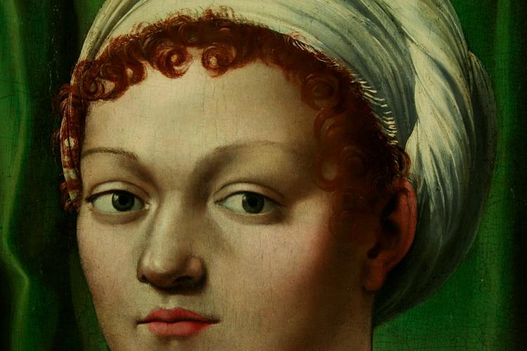 Giulio Romano, ritocco a rigatino del volto