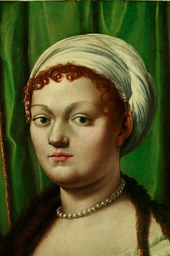 Giulio Romano, volto dopo il restauro