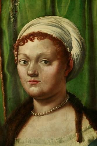 Giulio Romano, volto dopo la pulitura