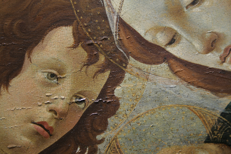 Botticelli-Madonna-con-Bambino-durante-cretti